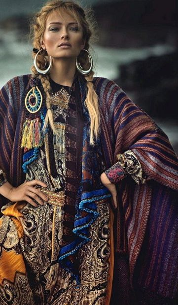 www.cewax.fr in love with this ethnic look - bohemian boho style hippy hippie chic bohème vibe gypsy fashion indie folk look outfit