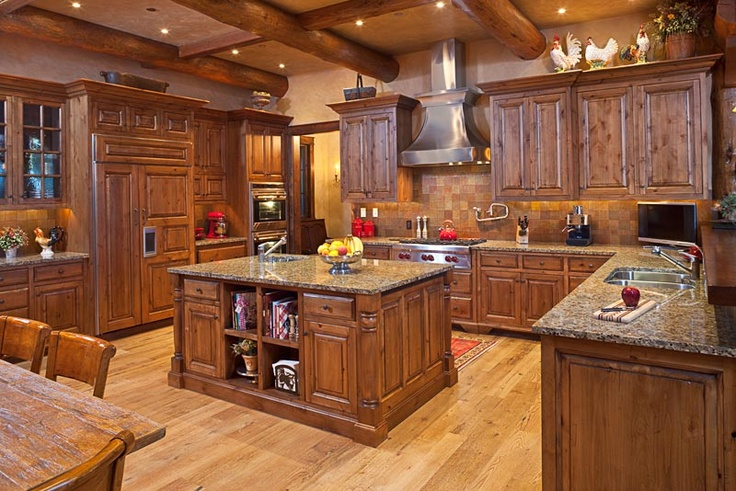 Gallery of 17 rustic kitchen designs page 2 of 2 zee for Oak kitchen ideas designs
