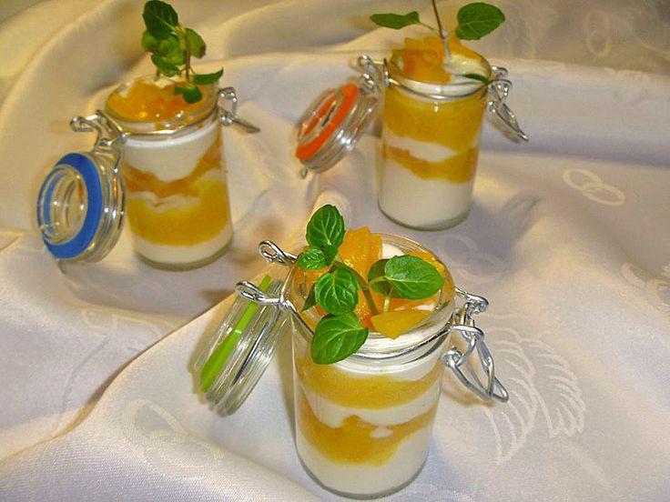 Pfirsich - Maracuja - Traum, ein sehr leckeres Rezept aus der Kategorie Dessert. Bewertungen: 129. Durchschnitt: Ø 4,6.