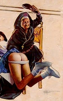 Mothers Slipper spank