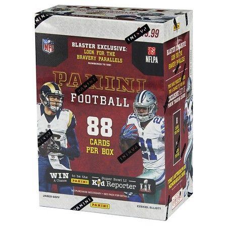 2016 NFL Panini Football Trading Cards Full Box : Target $20