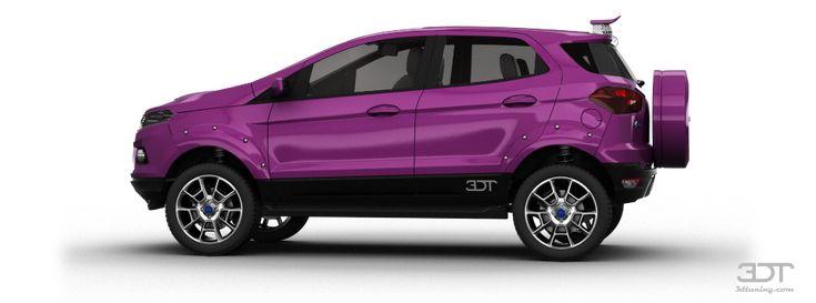 Tuning Of Tuning Ford EcoSport SUV 2014 - 3DTuning