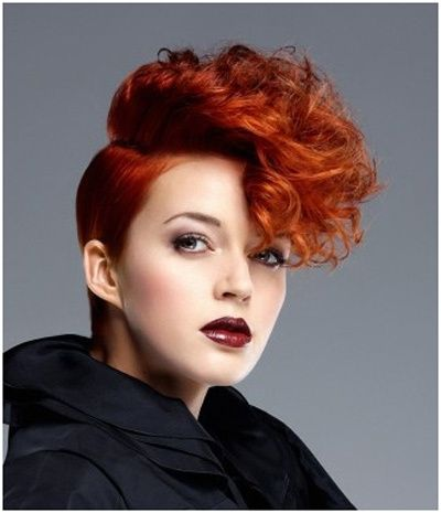 hair styles for curls 38 funky hairstyles for hair cool hair styles 3914