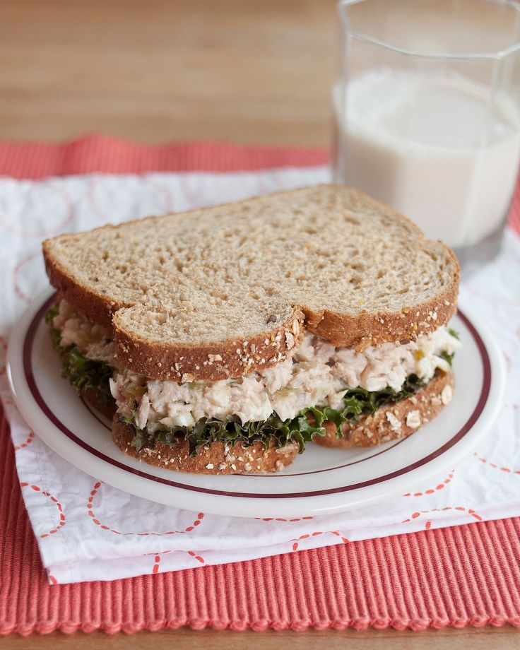 No matter how creative or spontaneous or inventive I aim to be with my weekday lunches, at some point I always end up craving just simple a tuna salad sandwich. It's lunchtime comfort food. Has it been a while since you last had tuna salad? Here's my favorite, most basic recipe. I think it's just about perfect.