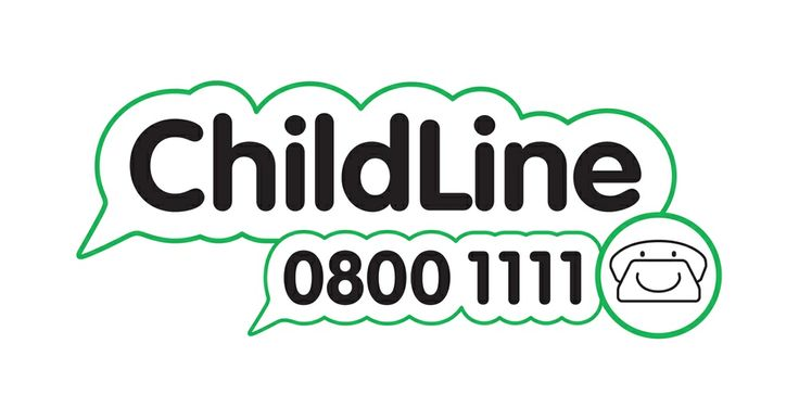 The logo for Childline does not appeal to me that much because it just the name with a green speech bubble around it. However the good thing about it is that they have added their phone number to it meaning you can always instantly contact them.