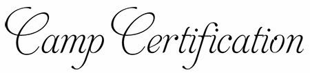 Many great ideas and handouts for all levels of certification
