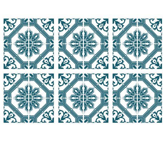 KAKELDEKOR Marockansk 17
