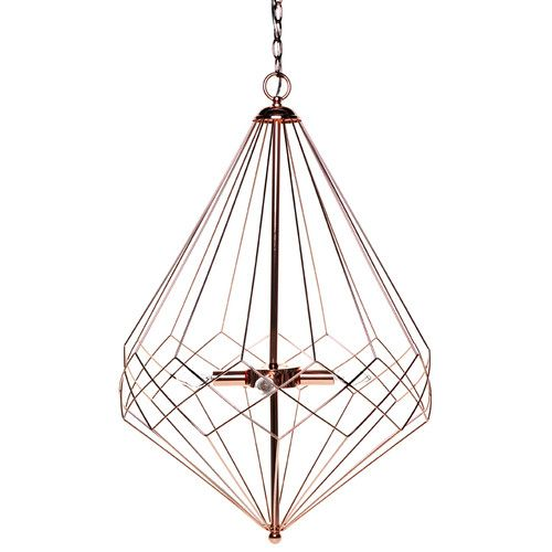 CAFE Lighting Copper Plated Portland Pendant Light