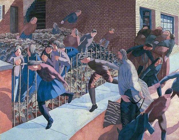 Stanley Spencer Christ's Entry into Jerusalem