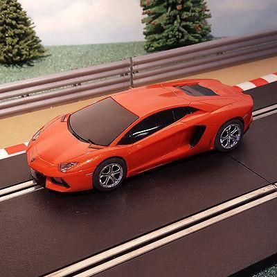 For sale Scalextric 1:32 C... One careful owner! Browse here http://www.actionslotracing.co.uk/products/scalextric-1-32-car-orange-lamborghini-aventador?utm_campaign=social_autopilot&utm_source=pin&utm_medium=pin