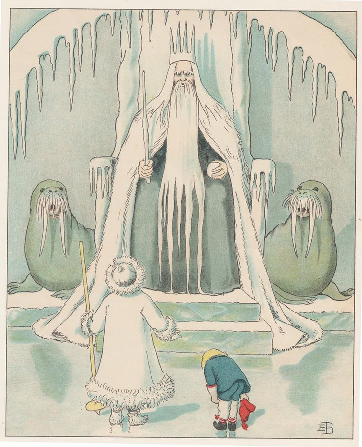 Elsa Beskow OK they're walruses but still great illustration