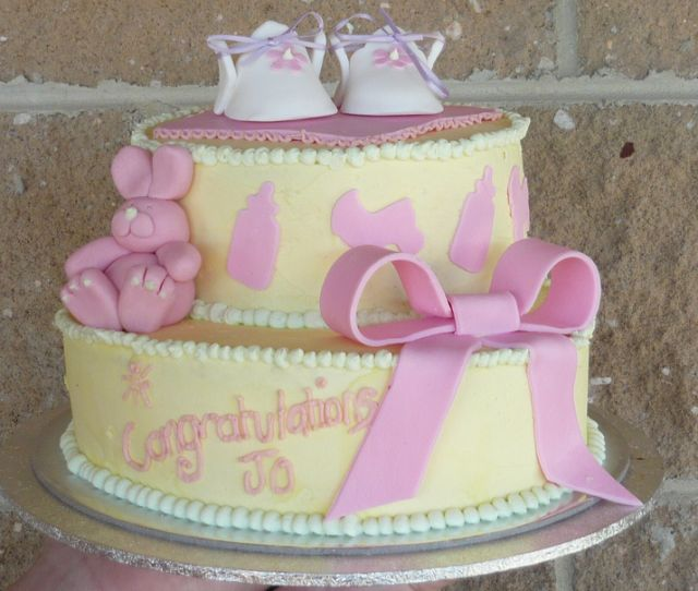 Yellow Baby Shower Cakes and Ideas