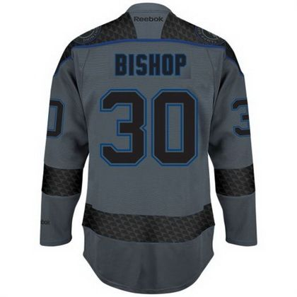 mens ben bishop tampa bay lightning reebok cross check premier fashion jersey storm
