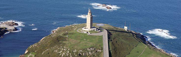 Torre de Hercules, La Coruña, Galicia, Spain