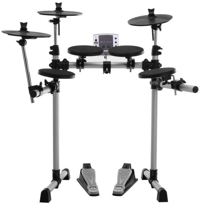 Batería electrónica XDrum DD-400 con pedales incluidos (Auriculares de regalo)