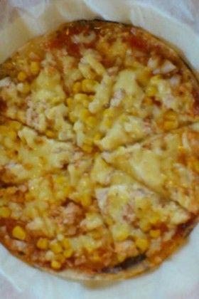 ライスペーパーでピザ※小麦アレルギー対応