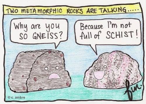 Coñece as rochas metamórficas e como se forman. Nivel Secundaria.
