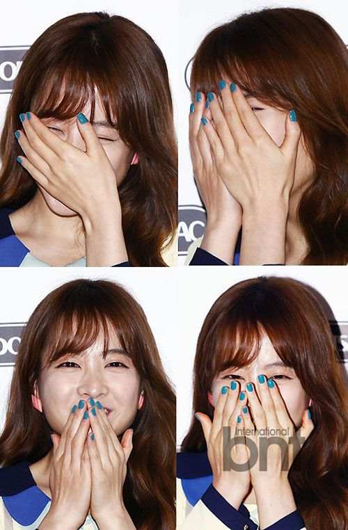 BNTNews- [bnt photo] Park Bo young, blowing fans away with smile