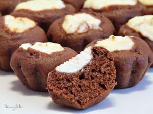 Шоколадные маффины-ватрушки с творожной начинкой. Пошаговый рецепт с фото, удобный поиск рецептов на Gastronom.ru