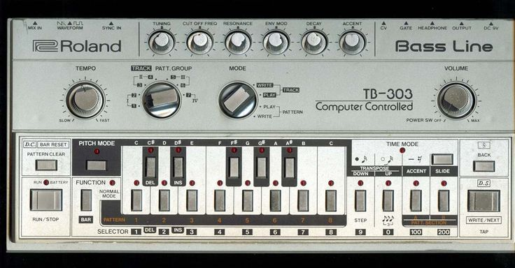 Old school bass lines don't come any more dope than the ones of the TB 303