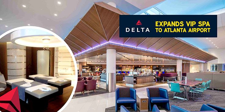 #Delta Expands VIP Spa To #AtlantaAirport  The airline has opened a new lounge named #AsandaSpaLounge in its club Concourse E at Hartsfield-Jackson Atlanta International Airport.
