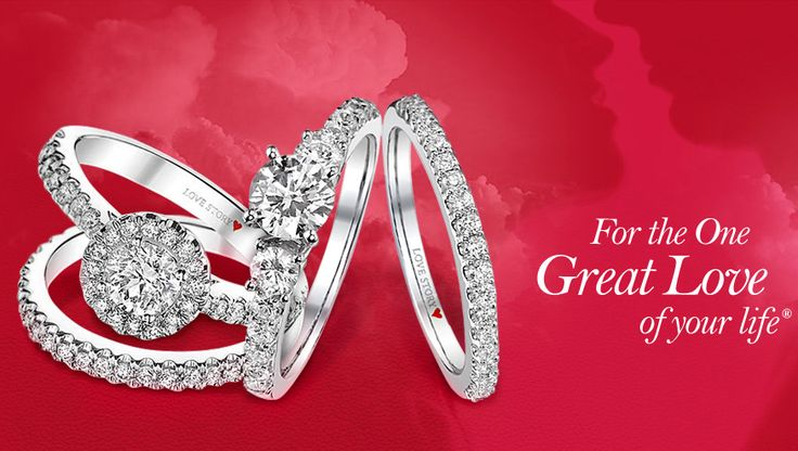 Do we have engagement rings and wedding bands for women? Oh yes we do!  Stop into one of our fine jewelry stores in Albany, Colonie or Clifton Park so that we can help you to pick the perfect rings.