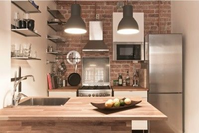 【効率的なレイアウト】コンパクトなキッチンスペース | 住宅デザイン