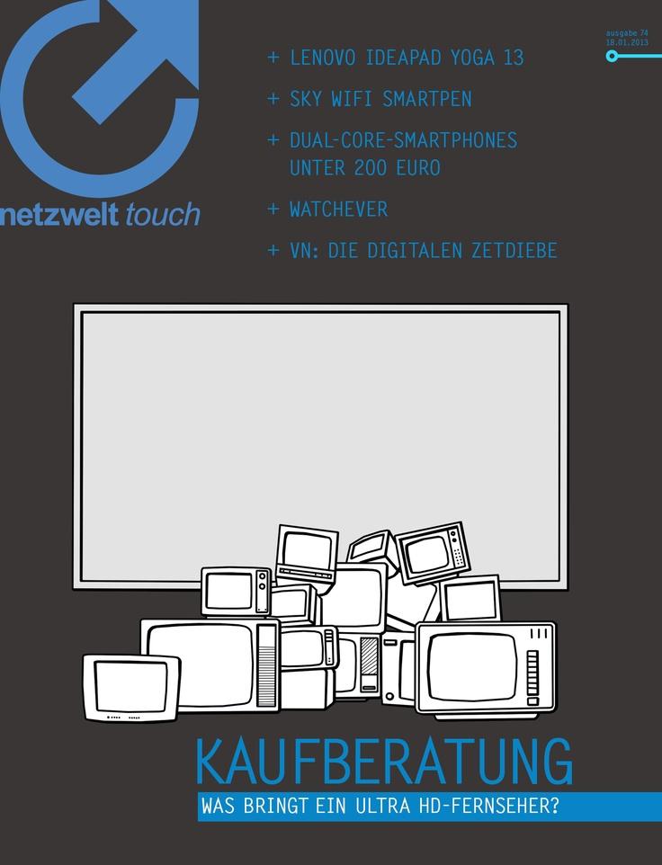 """Denken Sie darüber nach, sich einen Fernseher zu kaufen? Vielleicht ziehen Sie ja sogar das Beste vom Besten in Betracht: einen Ultra HD-Fernseher, der nicht nur scharf, sondern auch groß ist. Vor dem Kauf, gibt es jedoch einiges zu bedenken. Werfen Sie also zunächst einen Blick in unsere Ultra HD-Kaufberatung, bevor Sie auf """"Bestellen"""" klicken. Bedenkenloser zugreifen können Sie beim IdeaPad Yoga 13 von Lenovo. Der Mix aus Notebook und Tablet leistete sich im netzwelt-Test kaum Schwächen."""