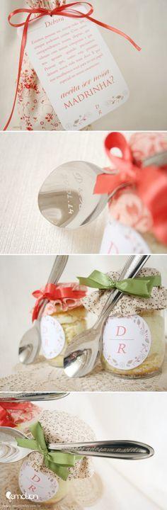 Convite especial para padrinhos | presente para padrinhos de casamento | Bridesmade and groomsman gift idea