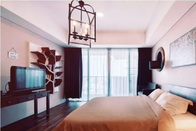 Delightful Warm Studio Apartment W Balcony Apartments For Rent In Jakarta Indonesia One Bedroom Apartment Finding Apartments Apartments For Rent