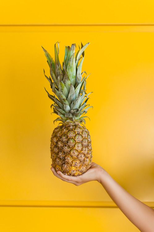 Be like a pineapple: stand tall, wear and crown, and be sweet on the inside!