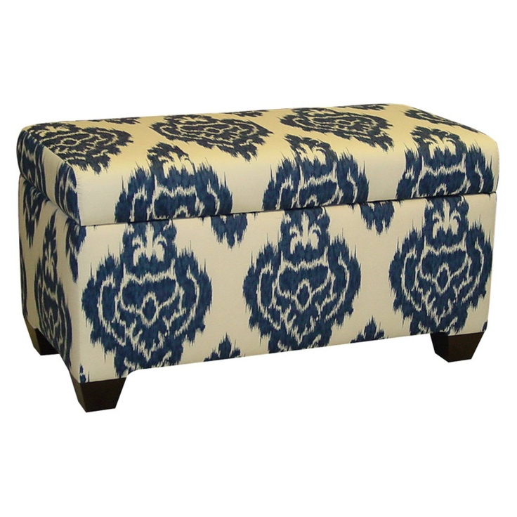 Skyline-Ikat-Storage-Bench - 30 Best Images About Crazy For Ikat! On Pinterest Fabrics