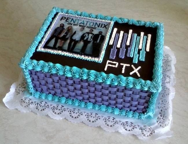Ptx Pentatonix Birthday Cake Pentatonix And Sup3rfruit