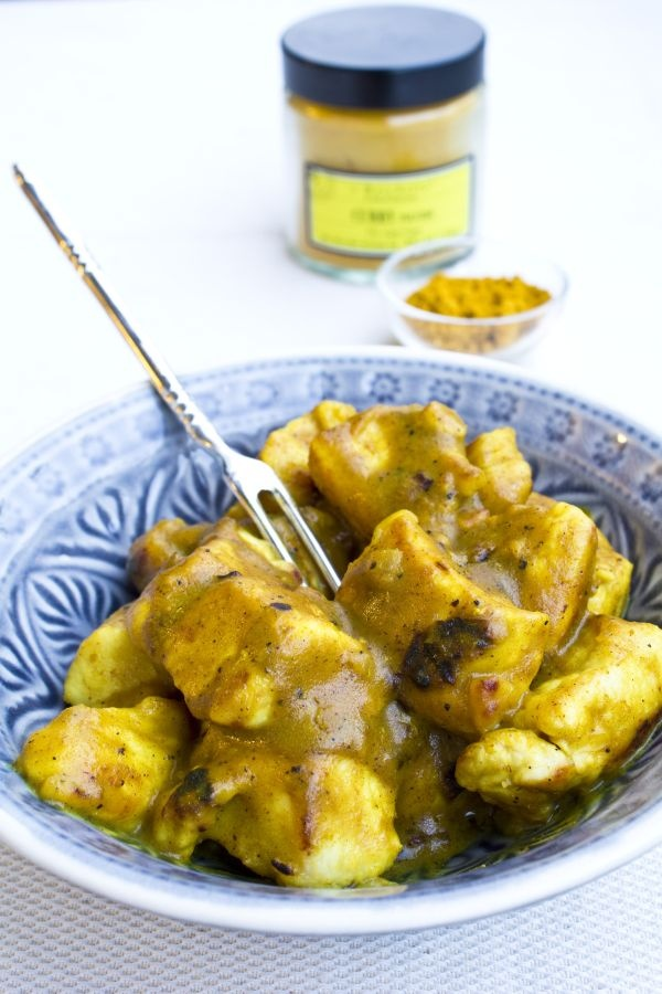 Curry Chicken \ Pollo al curry