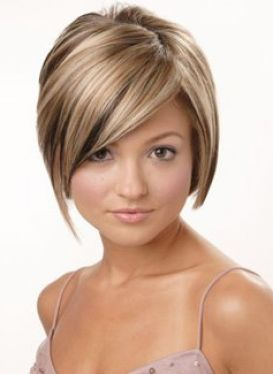 pictures of strawberry blonde highlights | Short blonde hair with brown highlights pictures 1