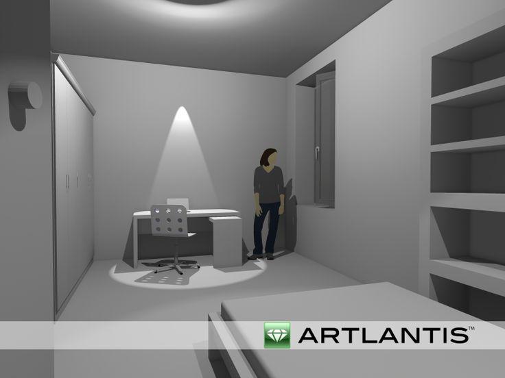 Artlantis vista notte 4