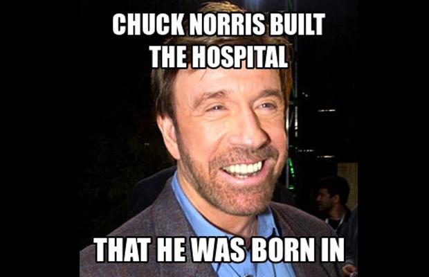 50 Hilarious Chuck Nor...