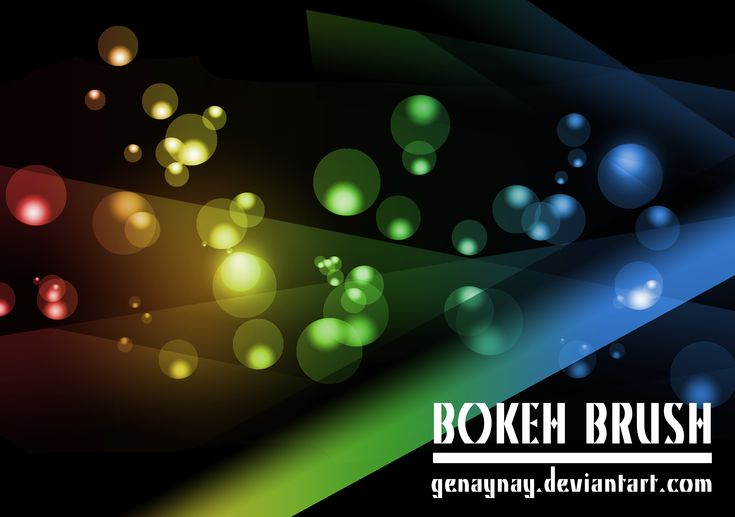 Bokeh Brush by GENAYNAY.deviantart.com on @DeviantArt