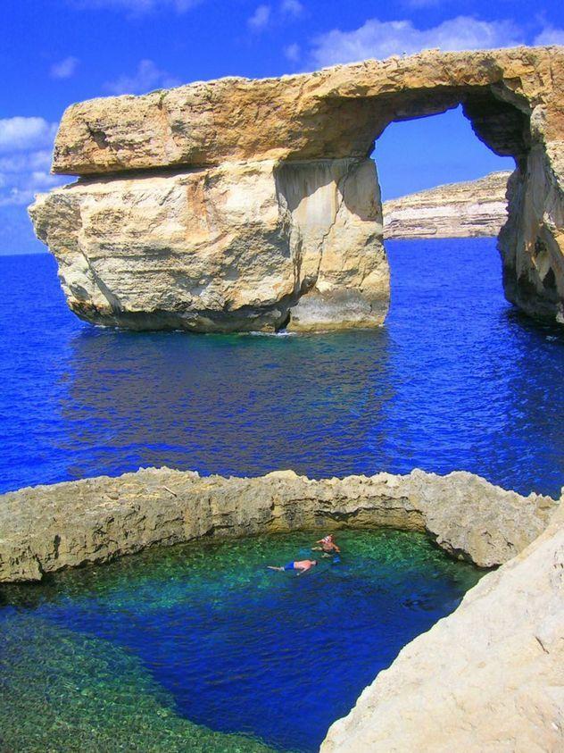 Blue Hole, Gozo, Malata http://www.driftermoose.com/hidden-treasure-of-europe-gozo-malta/