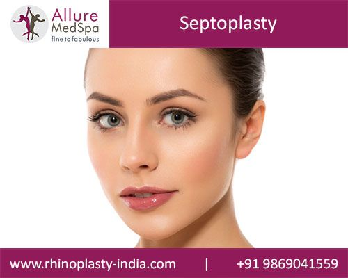Septoplasty is also known as Deviated Septum Rhinoplasty that designed to correct the shape of the septum of the Nose in order to improve the look. Get Best, Transparent and Affordable Rhinoplasty Surgery Cost/ Price,Using advanced technology at Rhinoplasty-india, Mumbai.