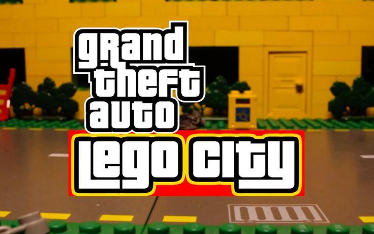 GTA LEGO City: Video Stop Motion Grand Theft Auto 5