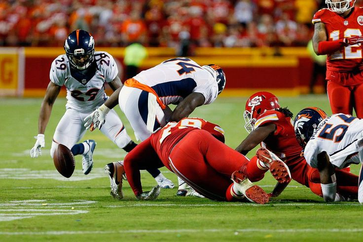 Jamaal Charles fumble against Denver on what should have been a game ending play and Chief win.  But no...he fmbles and Denver runs it back.  TAKE A FREAKING KNEE.  I HATE THAT.