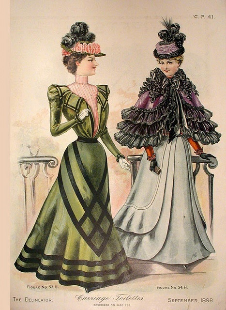 spring outfit - victorian fashion