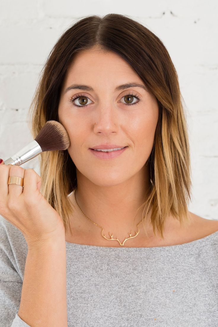 Base Makeup: 4 Steps to Getting a Flawless Face via Brit + Co.