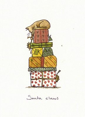 Santa Claws by Anita Jeram.