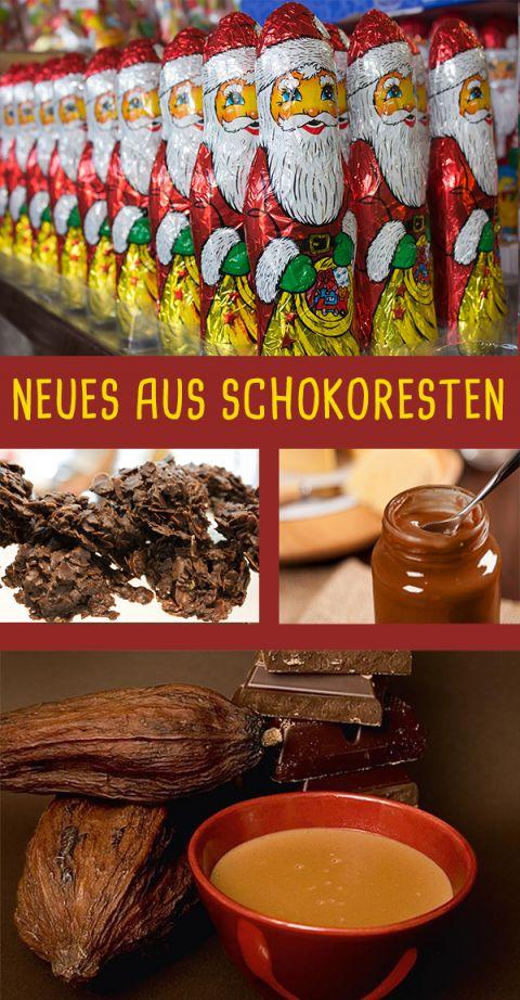 Schokoladen-Reste verwerten: Vier Rezepte - [GEO]