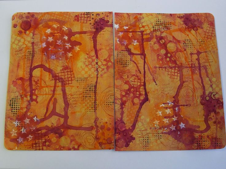 Crafty Journey: Painted Journal | Unruly PaperArts