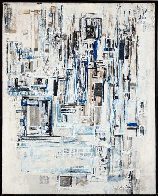 Maria Helena Vieira da Silva, 'Sem título,' 1970, Pinakotheke Cultural