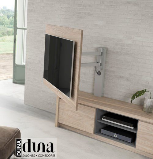 Panels TV to guide our television in the salonguide Tv Wall Design, Tv Unit Design, Interior Design Presentation, Home Interior Design, Living Room Tv Unit, Living Room Decor, Rack Tv Sala, Tv Rack, Tv Wall Cabinets