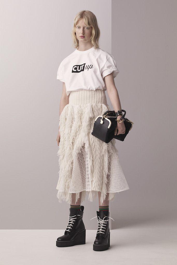 SACAI(サカイ) 2017プレフォールコレクション ランウェイ18枚目
